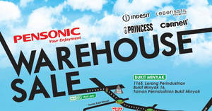 Featured image for Pensonic Warehouse Sale at Penang from 9 – 11 Dec 2016
