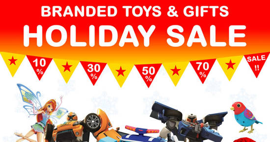 Featured image for RB Zicon branded toy & gifts warehouse sale returns at Cheras from 1 - 9 Dec 2016