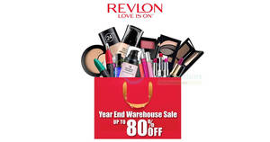Featured image for Revlon's year end warehouse sale offers up to 80% off at Shah Alam from 30 Nov – 2 Dec 2016
