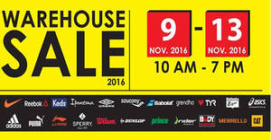 Royal Sporting House  Warehouse Sale – Prices start fr RM5 at Subang Jaya  from 9 – 13 Nov 2016 c90a8515a