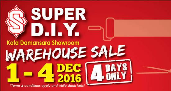 Featured image for Super Ceramic Tiles & Design warehouse sale at Kota Damansara from 1 - 4 Dec 2016