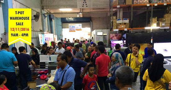 Featured image for T-Pot: Warehouse Sale at Shah Alam on 12 Nov 2016