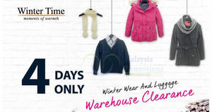 Featured image for Winter Time warehouse sale at Pearl Point from 1 – 4 Dec 2016