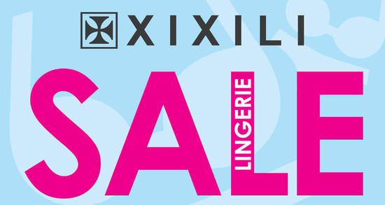Featured image for XIXILI lingerie sale featuring prices from RM3* at Pearl Point from 24 - 27 Nov 2016