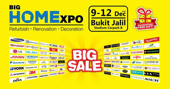 BIG HOME Expo feat 7 Dec 2016