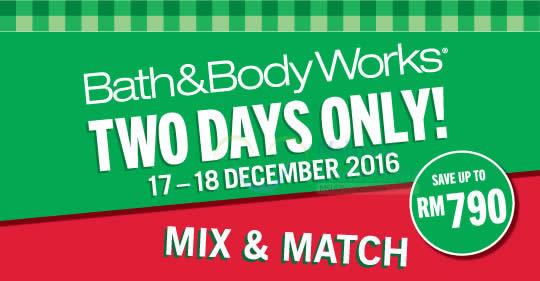 Bath Body Works feat 17 Dec 2016