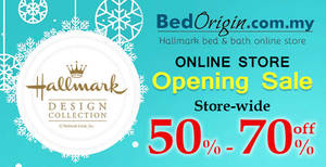 Featured image for Hallmark Bed & Bath Online Store Opening Sale from 9 – 29 Dec 2016