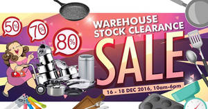 Featured image for Katrin BJ extends warehouse stock clearance sale at Subang Jaya from 16 – 18 Dec 2016