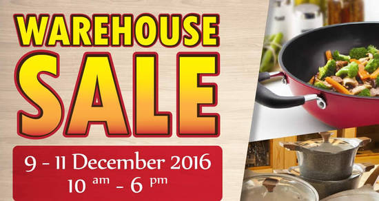 Featured image for Oasis Swiss warehouse sale offers up to 80% off household products at Puchong from 9 - 11 Dec 2016