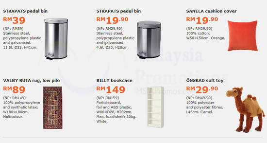 Featured image for Save up to RM60 with IKEA's monthly deals valid from 30 Jan - 26 Feb 2017
