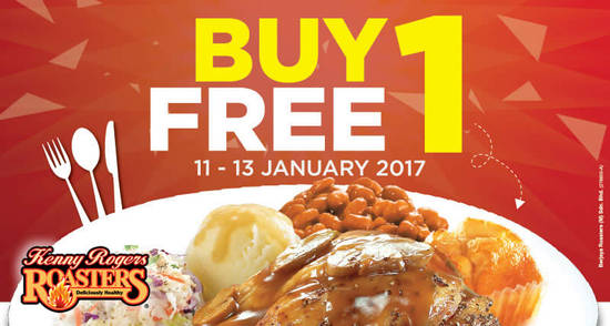 Kenny Rogers ROASTERS feat 9 Jan 2017