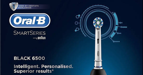 Oral B Smart Series 6500 feat 7 Jan 2017