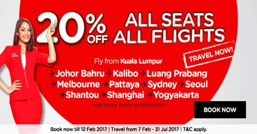 AirAsia 6 Feb 2017