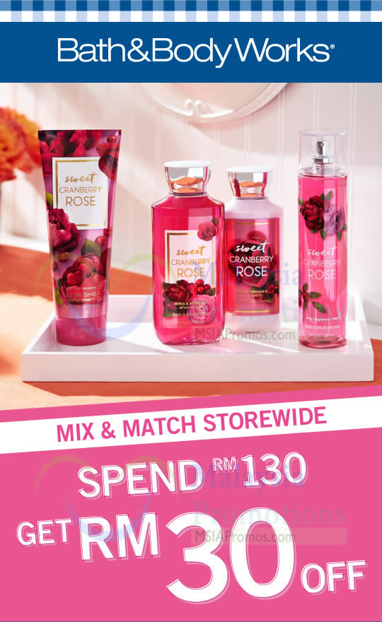 Join the Bath & Body Works email list and receive exclusive online and store discounts, sale alerts, free shipping offers, and news about upcoming products.