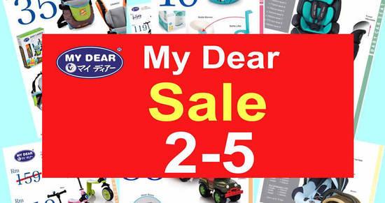 Featured image for My Dear sale at Wisma Minlon from 2 - 5 Mar 2017