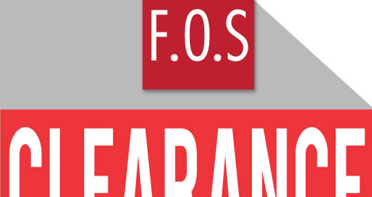 Featured image for F.O.S: Clearance Sale at the Curve from 17 - 26 Mar 2017