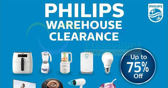 Philips Warehouse Sale feat 28 Apr 2017