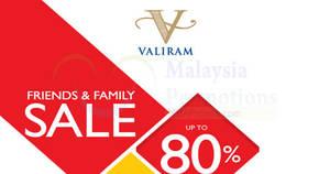 731924a7bebb Valiram Friends   Family Sale at Kuala Lumpur from 14 – 16 Apr 2017