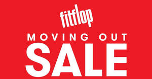 Featured image for FitFlop: Moving out sale at Atria from 24 – 28 May 2017