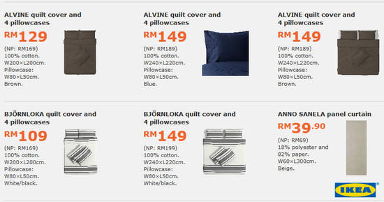 Featured image for Save up to RM200 selected items with IKEA's monthly deals valid from 1 May - 4 Jun 2017