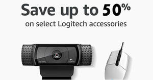 Featured image for Amazon 24hr Deal: Up to 50% off select Logitech PC accessories! Ends 16 Aug 2017, 3pm