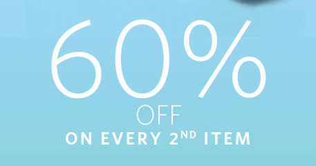 Featured image for Esprit: 60% off every 2nd piece at Esprit's online store from 31 Aug - 3 Sep 2017