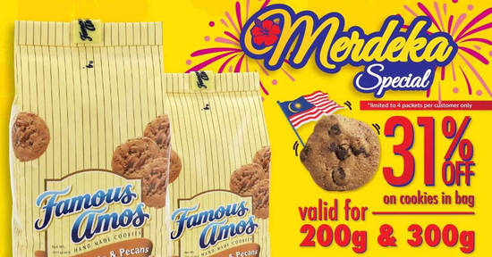 Famous Amos feat 25 Aug 2017