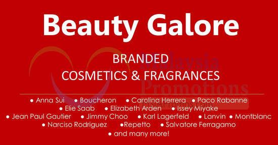 Luxasia Beauty Galore feat 23 Aug 2017