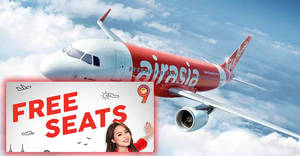 Featured image for Air Asia: FREE seats promotion is back fr RM15 all-in! Book from now till 17 Sep 2017