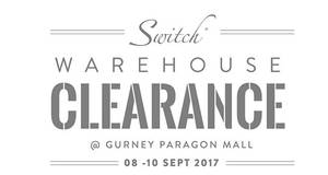 Featured image for Switch Apple products warehouse clearance at Gurney Paragon Mall! From 8 – 10 Sep 2017