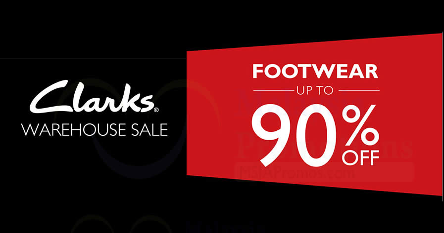eb74cc3ea8b6 Clarks up to 90% OFF warehouse sale from 27 – 29 Oct 2017
