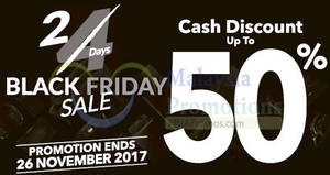 Featured image for Courts: Black Friday sale – cash discount up to 50% OFF! From 25 – 26 Nov 2017