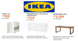 Featured image for IKEA: Enjoy savings of up to RM300 on selected items! Offers valid from 6 Nov – 3 Dec 2017