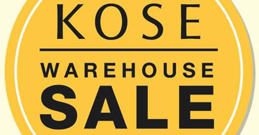 KOS Warehouse Sale feat 22 Nov 2017