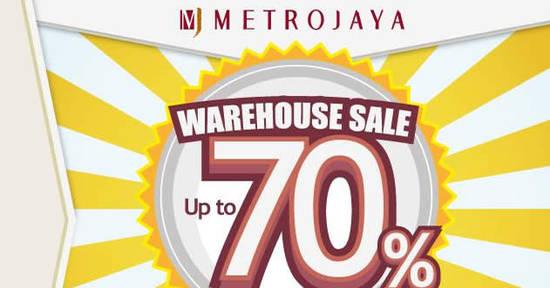 Metrojaya Warehouse SALE feat 22 Nov 2017