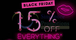 Featured image for Sephora: 15% OFF storewide coupon code valid on Black Friday, 24 Nov 2017