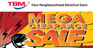 Featured image for Tan Boon Ming: Up to 80% OFF Mega Clearance Sale at Axis Business Park from 8 – 10 Dec 2017