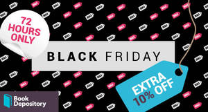 Featured image for The Book Depository: 10% OFF massive bestsellers Black Friday coupon code! Valid from 24 – 26 Nov 2017