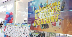 Featured image for Thunder Match up to 90% OFF warehouse sale at Berjaya Megamall Kuantan! From 9 – 12 Nov 2017