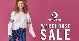 Converse warehouse sale at Johor from 31 Jan – 4 Feb 2018