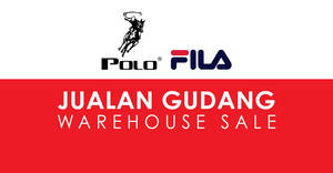 Featured image for FILA & Polo Haus: Warehouse sale – prices start from RM5! Happening from 31 Jan – 4 Feb 2018