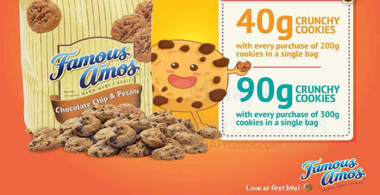 Famous Amos feat 9 Jan 2018