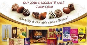 Featured image for Francestle Chocolatier Factory Outlet sale from 29 Jan – 15 Feb 2018