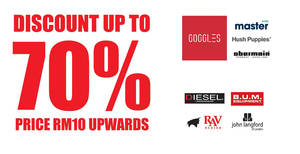 Goggles Marketing: Up to 70% OFF branded warehouse sale at Cheras! From 26 Jan – 4 Feb 2018