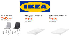 Featured image for IKEA: Enjoy savings of up to RM110 on selected items! Offers valid from 1 Jan – 4 Feb 2018