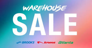 Featured image for Paragon Vest: Atlanta, Brooks and Krono warehouse sale! From 27 Jan – 4 Feb 2018