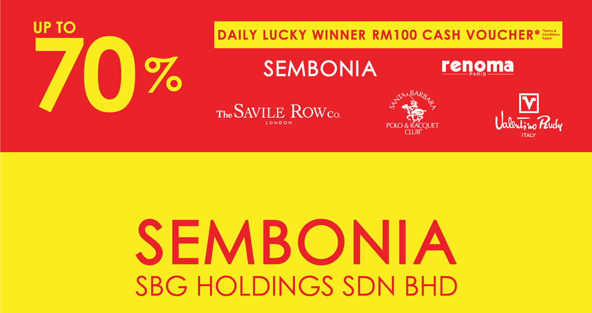 List Of Sembonia Related Sales Deals Promotions News Feb 2021 Msiapromos Com