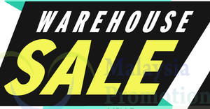 Wing Tai Warehouse Sale at Atria Shopping Gallery! From 20 – 21 Jan 2018