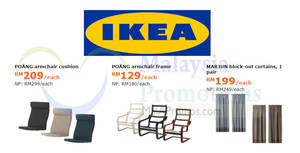 Featured image for IKEA: Enjoy savings of up to RM90 on selected items! Offers valid from 5 Feb – 4 Mar 2018