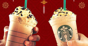 Starbucks: RM30 for two selected Grande Frappuccino from 16 – 18 Feb 2018
